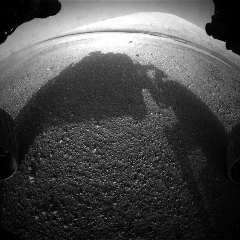 Curiosity Camera frontală de evitare a pericolelor 2012-08-06