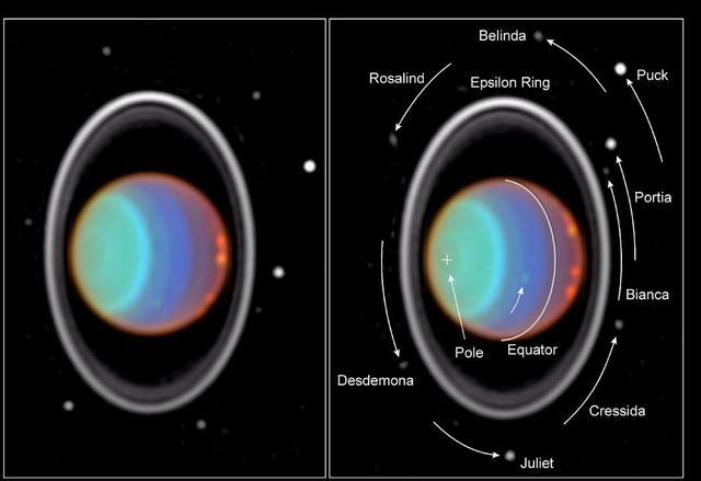 Hubble urmărește norii pe Uranus