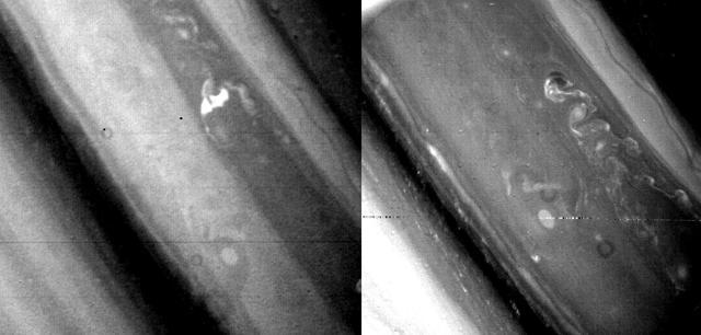 Regiunea temperată Saturn Nord