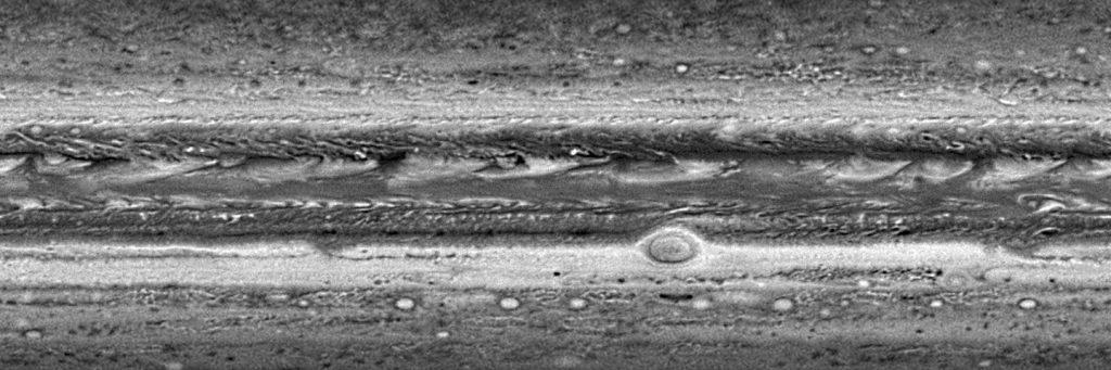 Harta atmosferică a lui Jupiter