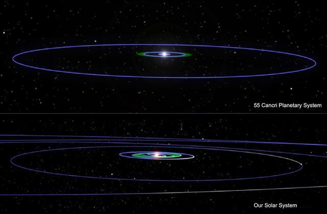 Vărul nostru din sistemul solar?  Conceptul artistului