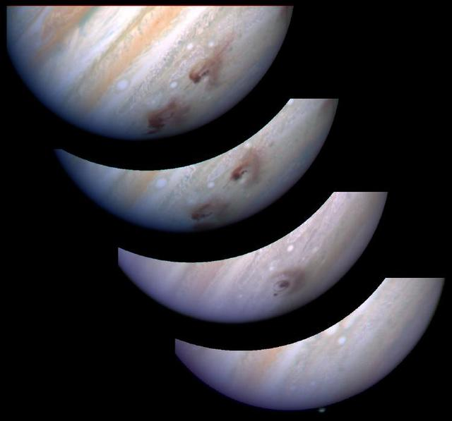 Jupiter G Impact Evolution