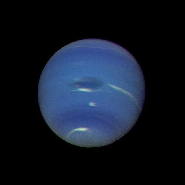 Neptun Atmosferă albastră-verde