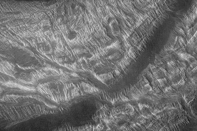 Venus – Interiorul Ovda Regio