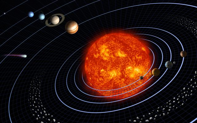 Sistemul nostru solar are opt planete