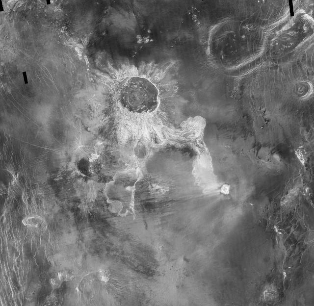 Venus – Craterul de impact Isabella